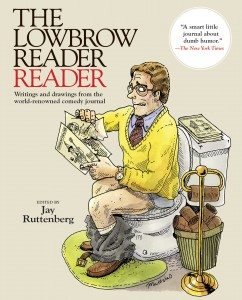 The Lowbrow Reader Reader cover