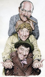 Groucho, Harpo and Chico, by Drew Friedman