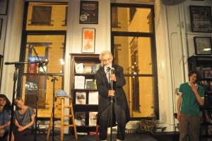 Professor Irwin Corey at The Lowbrow Reader Variety Hour